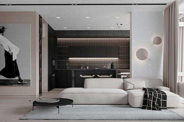 Bố trí thiết kế nội thất phòng khách