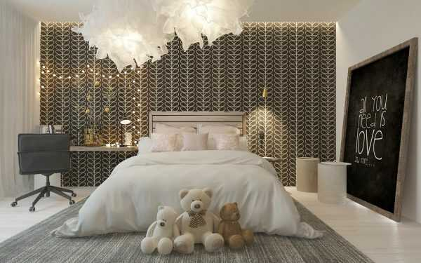 gam màu xám nâu trong thiết kế nội thất