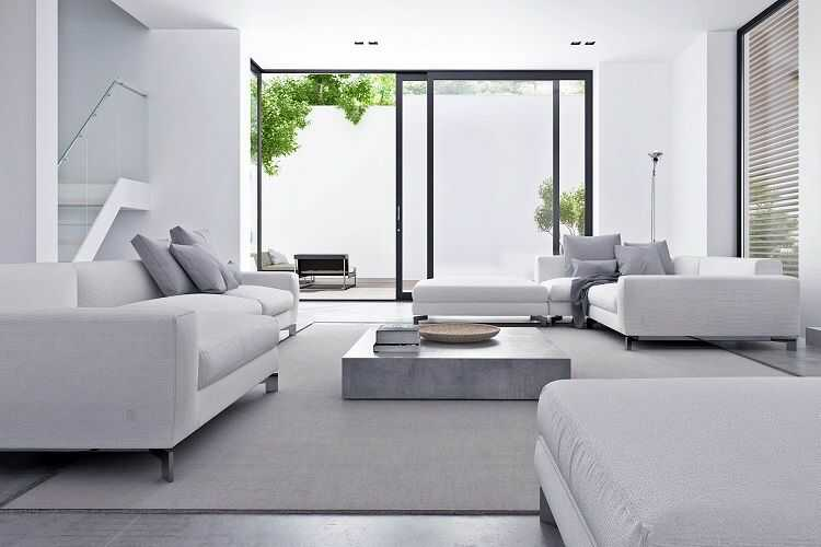 phong cách tối giản trong thiết kế nội thất