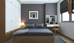 nội thất căn hộ cho phòng ngủ chung cư
