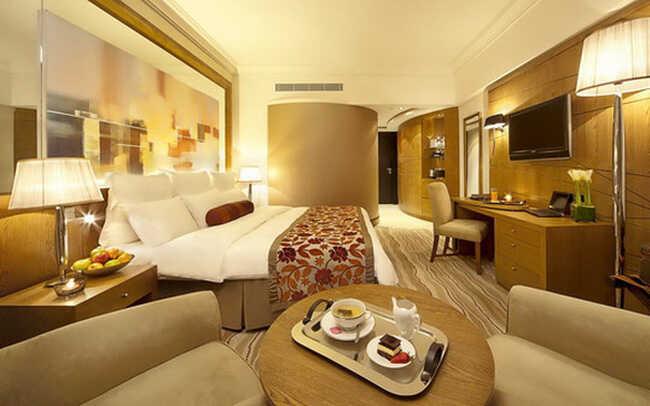 phòng ngủ thiết kế nội thất khách sạn