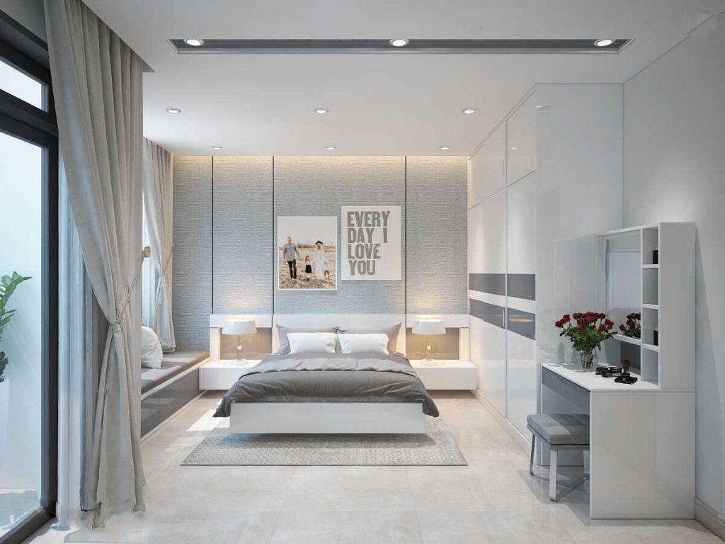 phòng ngủ có diện tích lớn