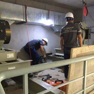 Sửa thang máy tải hàng hóa